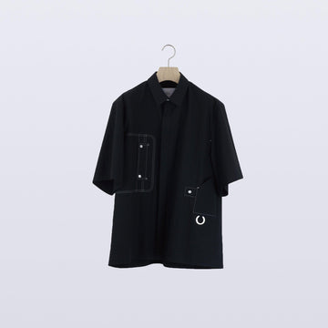 Tri Organ Shirt / BLACK