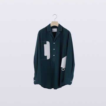 Calm Organ Shirt / GREEN