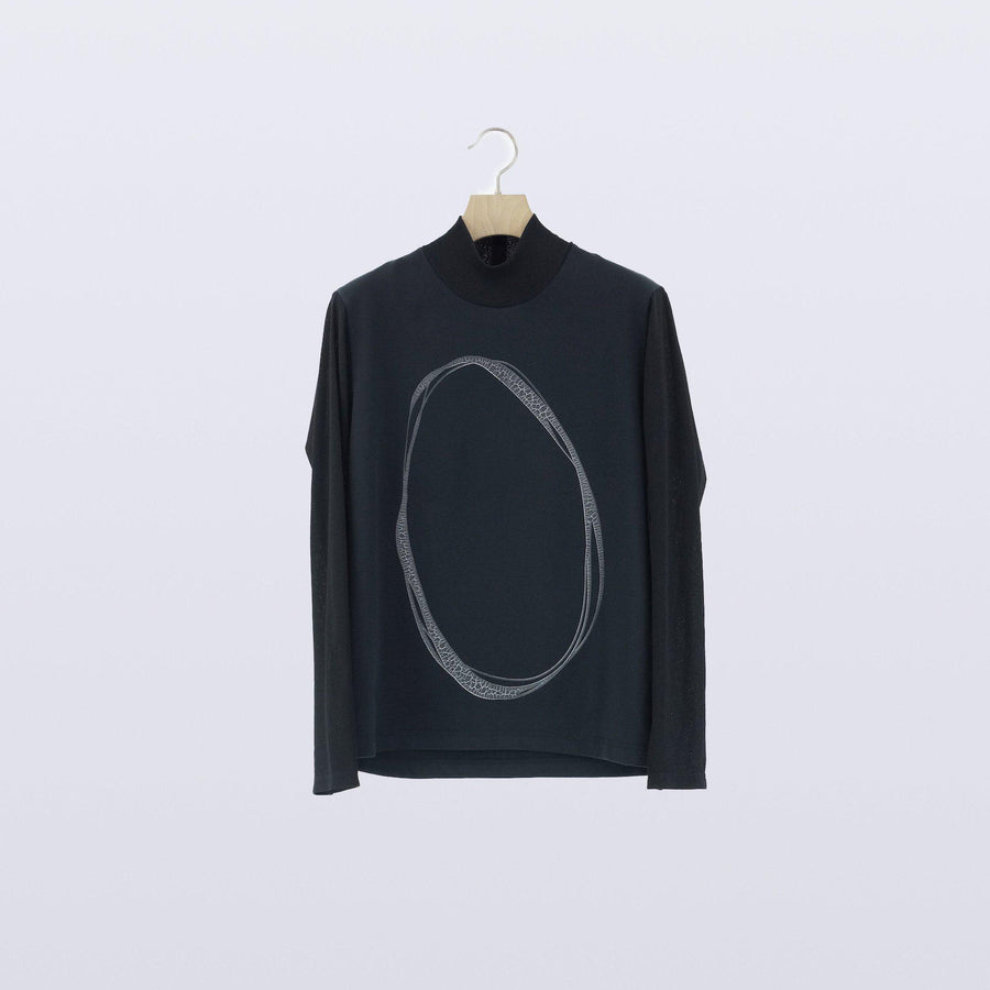 Oological Top / BLACK