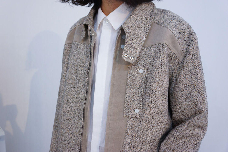 Owl Swing Jacket / BEIGE