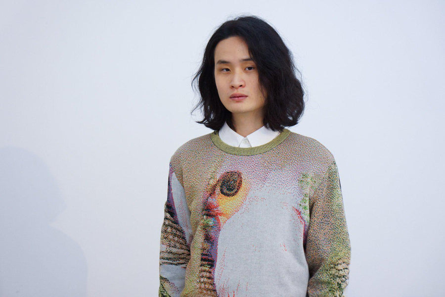 PRE: Syn Feather Sweater / Owl