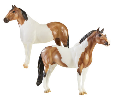 Breyer Traditional The Gangsters-Tony Da Pony and Bugsy Maloney