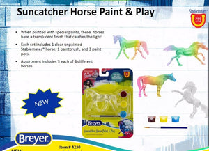 Suncatcher Horse Paint and Play-Breyer Stablemate-New for 2021