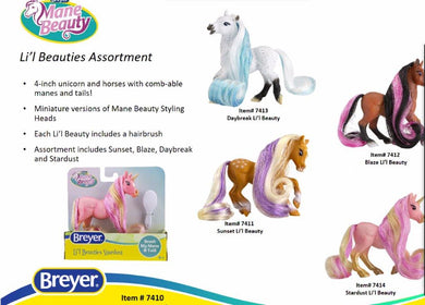 Lil Beauties-New for 2021-Breyer Accessories