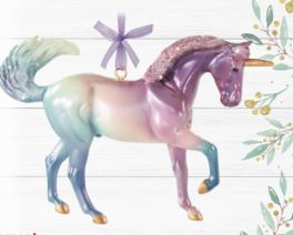 Cosmo Ornament Unicorn-Breyer Ornament