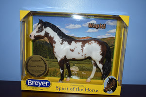 Wapiti-New in Box-Idocus Mold-Breyer Traditional