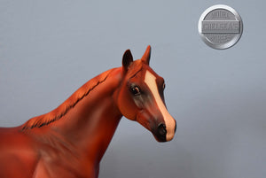 Dapples and Dots-Valegro Mold-Breyer Stablemate