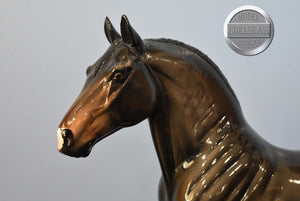 Black and White Western Pony-Breyer Traditional