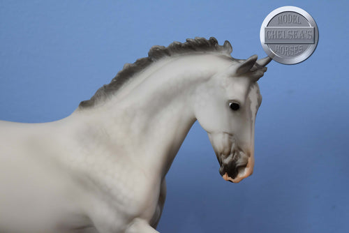 Marabella-Bay with Snip and Socks-Breyer Traditional Mare