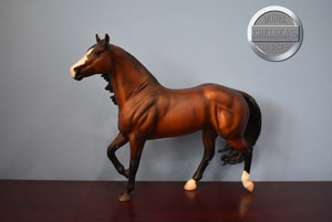 Dappled Grey Saddlebred Paddock Pal-New in Package-Breyer Paddock Pal