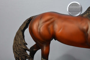 Justify-Racing Champion-Walking Thoroughbred Mold-Breyer Traditional