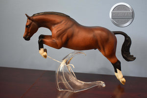 Harlequin-Vintage Club Exclusive-Proud Arabian Stallion-Breyer Traditional