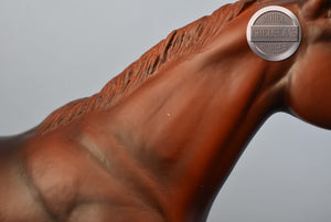 Phantom-Race Horse Mold-JAH Exclusive-Breyer Traditional