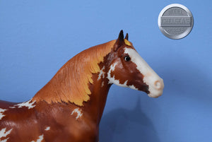 Palomino Western Horse-No Reins/No Saddle-Breyer Traditional