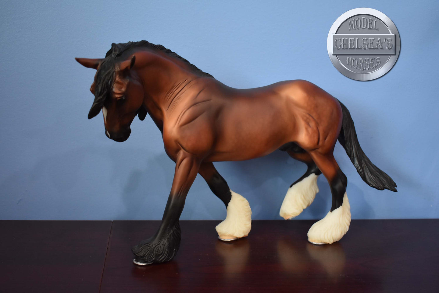 Grazing Mare-Body Condition-Breyer Traditional