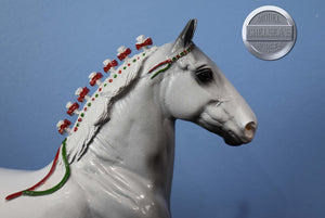 Bay Family Arabian Stallion-Breyer Traditional