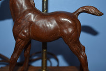 Load image into Gallery viewer, Woodgrain Family Arabian Foal-Lamp-Breyer Traditional