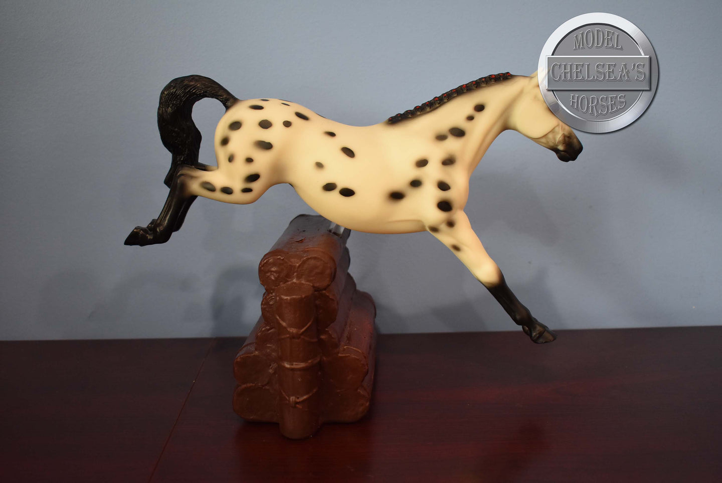 Overo Stock Horse Foal-Breyer Traditional