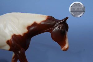 Patches-with Ribbon-Classic Ruffian Mold-Breyer Classic