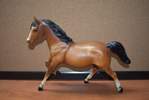 Bay Running Mare-Vintage-Breyer Traditional