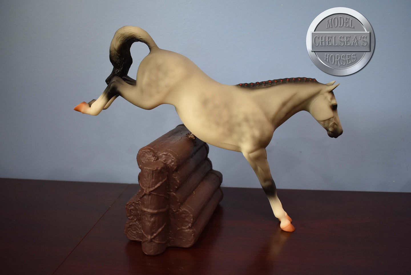 Purple Unicorn Alborozo-Breyer Stablemate