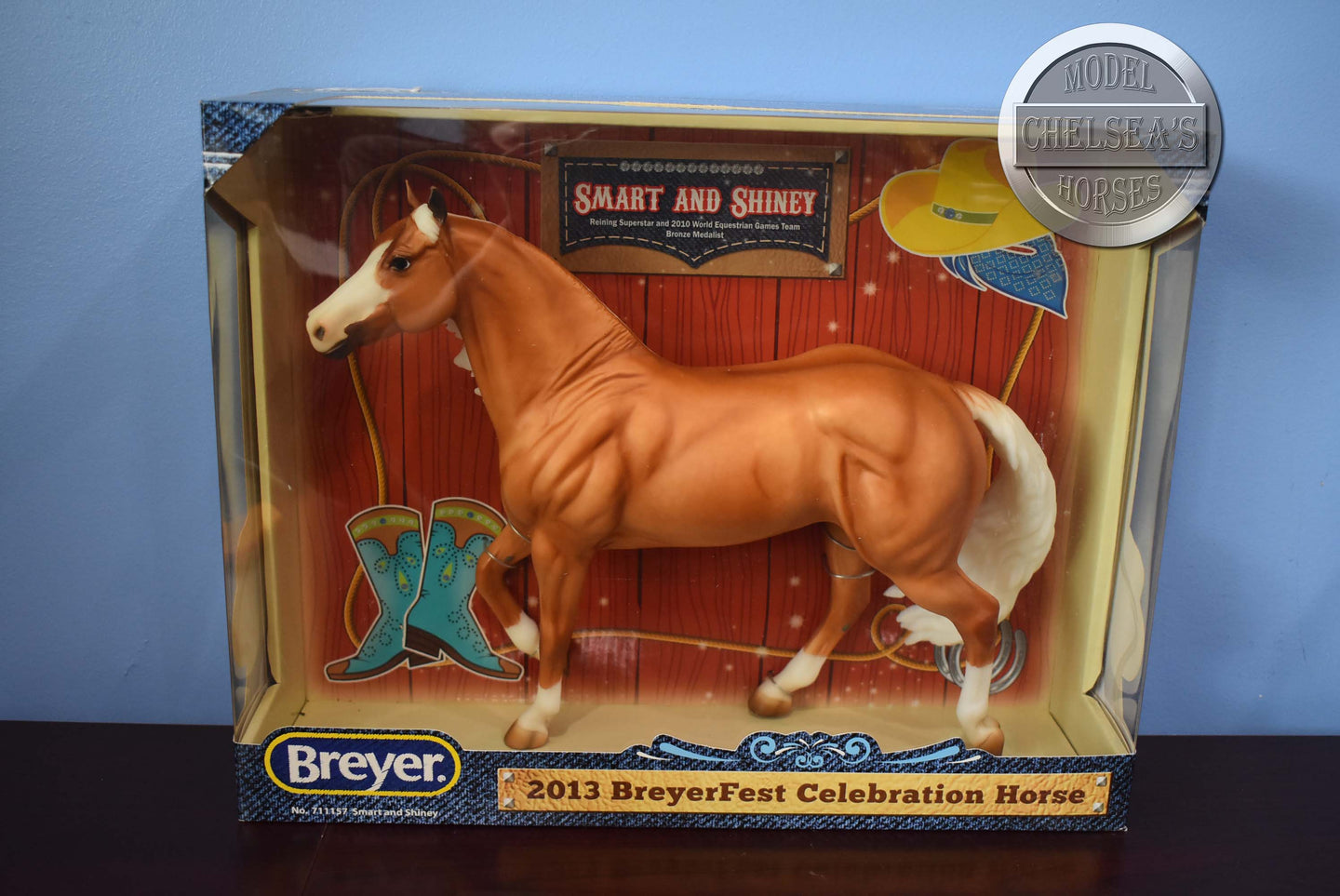 Gem Twist-Jumping Horse Mold-QVC Exclusive-Breyer Traditional