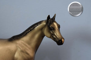 Lusitano on the Esprit Mold-Breyer Traditional