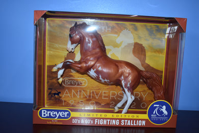70th Anniversary-Fighting Stallion-Breyer Traditional