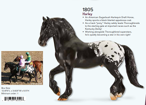 Harley-Appaloosa on Freisian Mold