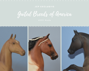 Gaited Breeds of American Set-JCP Exclusive-Breyer Traditional