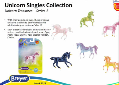 Unicorn Treasures Series-Breyer Stablemate-New for 2021