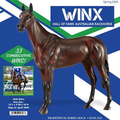 Winx-Australian Racehorse Thoroughbred-Breyer Traditional