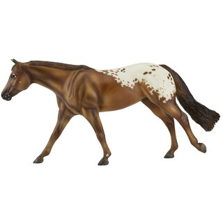 Chocolatey-Appaloosa on Roxy Mold-Breyer Traditional-New for 2021-PRE ORDER