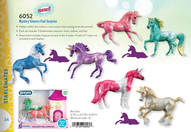Breyer Stablemate Mystery Unicorn Surprise