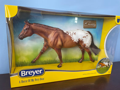 Chocolatey-Appaloosa on Roxy Mold-Breyer Traditional-New for 2021