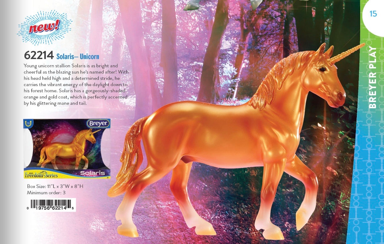 Breyer Classic Solaris-Unicorn New for 2020