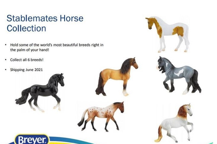 Stablemates Horse Collection Singles-New for 2021-Breyer Stablemates