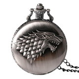 montre à gousset game of thrones famille stark
