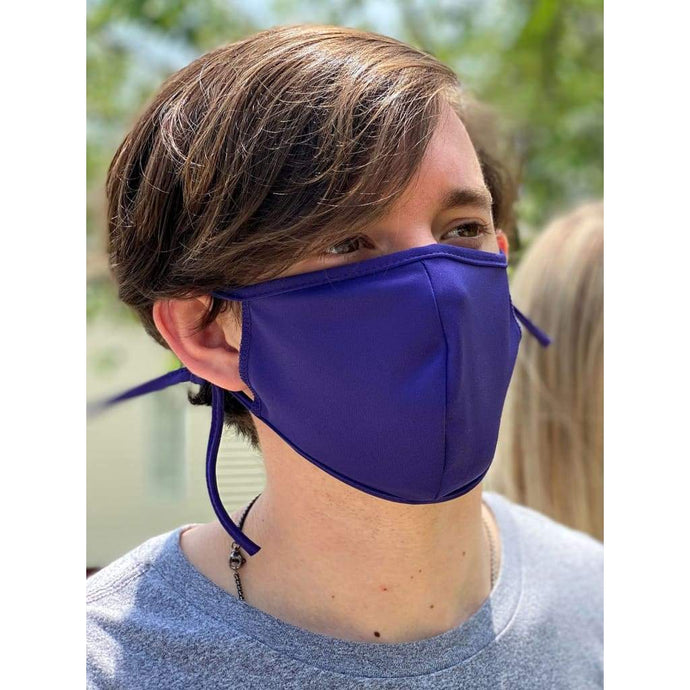 Purple Microfiber Masks - Mask Me Now (MMN)