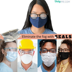 SEALS - Your Solution to a Fogless View - Mask seals