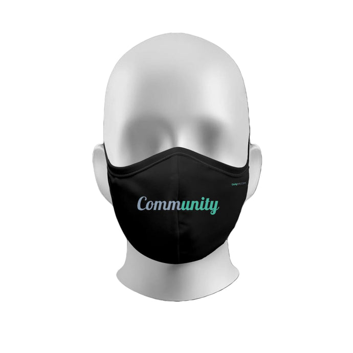 Two-Ply Microfiber Community Mask