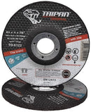 TAIPAN GRINDING DISC ORIGINAL INOX FAST 115MM 4.5 INCH x 6.5MM TO-6122