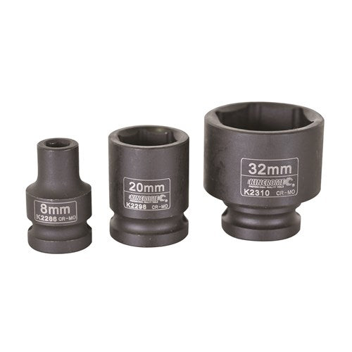 KINCROME IMPACT SOCKET 1/2 DRIVE 24MM K2302