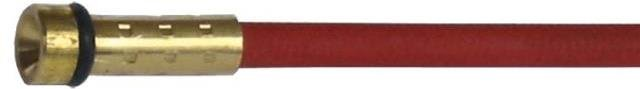 WELDCLASS MIG STEEL LINERS BINZEL RED 4M 0.9-1.2MM 1 PACK P3-BRSL4