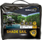 SHADESAIL PLATINUM CHARCOAL SQUARE 5M