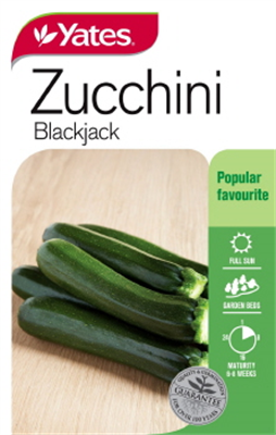SEEDS ZUCHINNI BLACKJACK