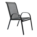 AIDEN SLING CHAIR STEEL STACKABLE