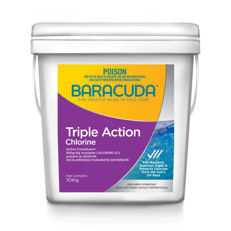 BARACUDA CHLORINE TRIPLE ACTION 2KG