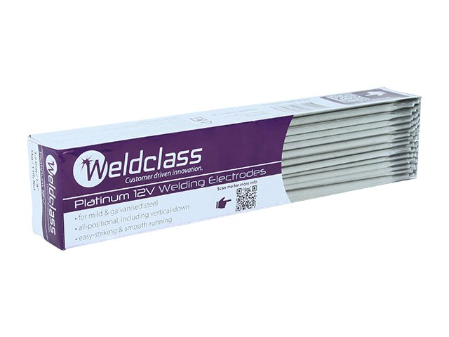 WELDCLASS ELECTRODES PLATINUM 12V GENERAL PURPOSE 3.2MM 5KG 2-E12V/32