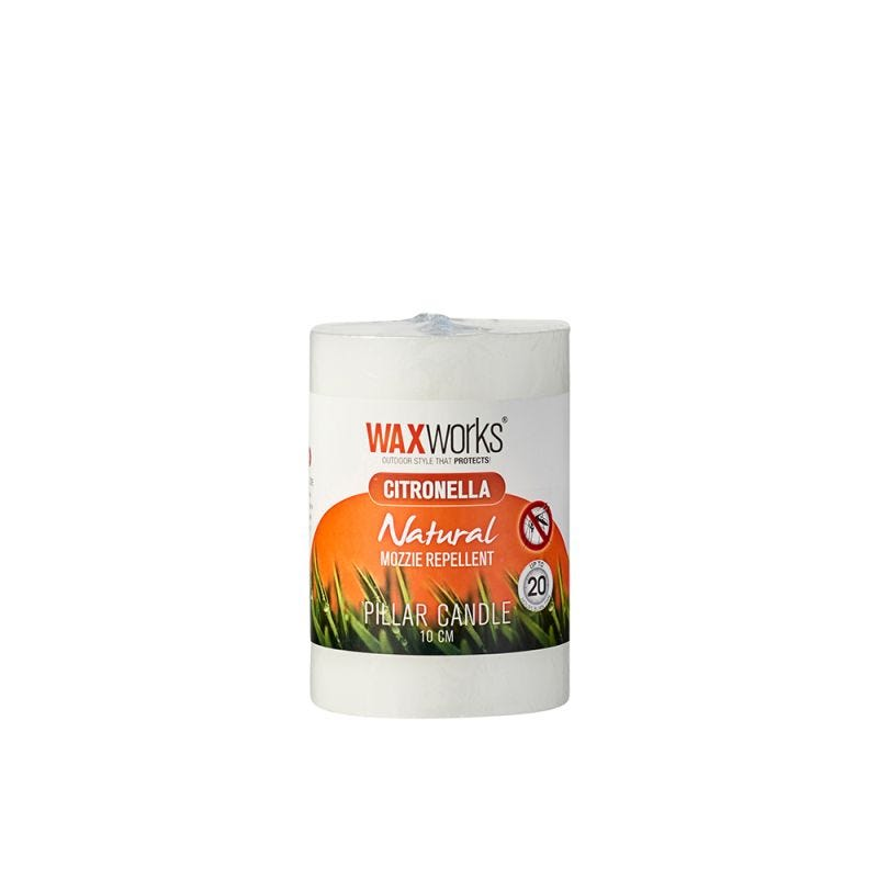CITRONELLA CANDLE PILLAR 10CM